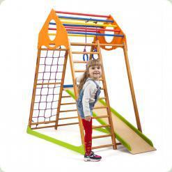 Дитячий спортивний комплекс для будинку KindWood