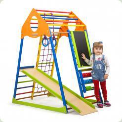 Дитячий спортивний комплекс KidWood Color Plus