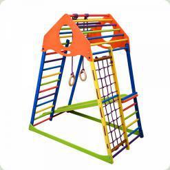Дитячий спортивний комплекс KidWood Color