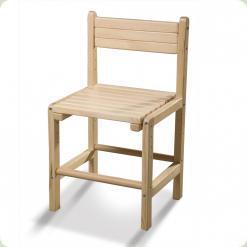 Дитячий стілець дерев'яний «Бебі-2»