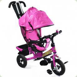 Дитячий триколісний велосипед Combi Trike BT-CT-0004 LILAC. Надувні колеса