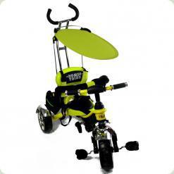 Дитячий триколісний велосипед з ручкою Combi Trike BT-CT-0012 LEMON