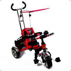Дитячий триколісний велосипед з ручкою Combi Trike BT-CT-0012 RED