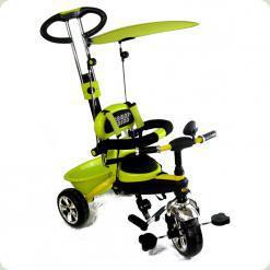 Дитячий триколісний велосипед з ручкою Combi Trike BT-CT-0013 LEMON