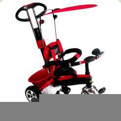 Дитячий триколісний велосипед з ручкою Combi Trike BT-CT-0013 RED