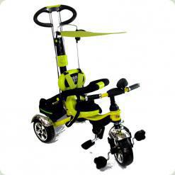 Дитячий триколісний велосипед з ручкою Combi Trike BT-CT-0014 LEMON