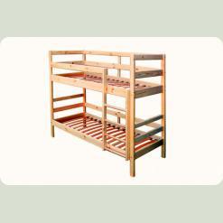 Двох'ярусне ліжко Babygrai з сосни