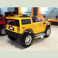 Двомісний дитячий електромобіль Джип Hummer 1206