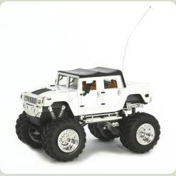 Джип мікро р/к 1:43 Hummer (білий)