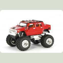 Джип мікро р/к 1:43 Hummer (червоний)
