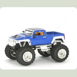 Джип мікро р/к 1:43 Hummer (синій)
