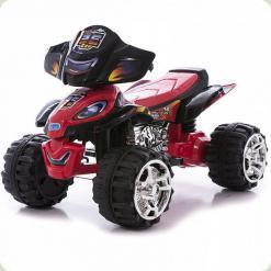 Електроквадроцикл 5118 червоно-чорний Bambi