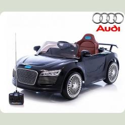 Електромобіль AUDI R8 M 1639 - Чорний