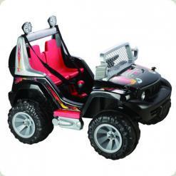 Електромобіль Bambi A18-2 (2 мотора, 2 акумулятора) Black