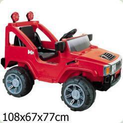 Електромобіль Bambi A30 R-3 (р / у) Red