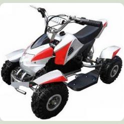Електромобіль Bambi HB-6 EATV 800-3-11 Срібно-червоний