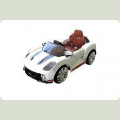 Електромобіль Bambi M 1603 R-1 (р / у) Porsche Білий