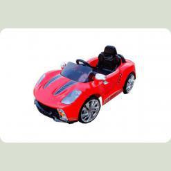 Електромобіль Bambi M 1603 R-3 (р / у) Porsche Червоний