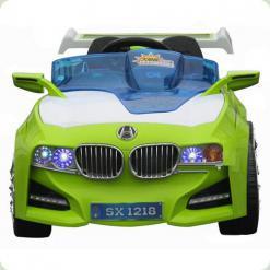 Електромобіль Bambi M0669 (р / у) з сонячною батареєю Lime White