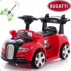 Електромобіль Bugatti MINI, червоний