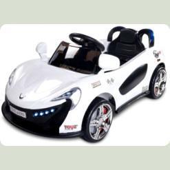 Електромобіль Caretero Aero (white)