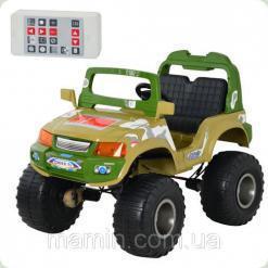 Електромобіль дитячий Джип M 1712 R-10 на р / у, Bambi