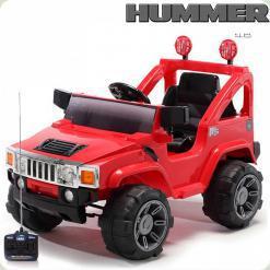 Електромобіль Hummer A-30 H2 - 2 мотора + Д / У - Червоний