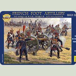 Франц. піша артилерія 1812гг.