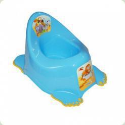 Горщик антіскольз., Муз. Tega Safari PO-045 blue