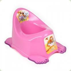 Горщик антіскольз., Муз. Tega Safari PO-045 pink