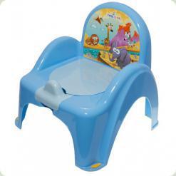 Горщик-крісло муз. Tega Safari PO-041 blue