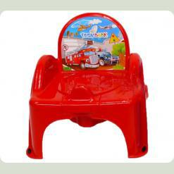 Горщик-крісло Tega Cars CS-007 red