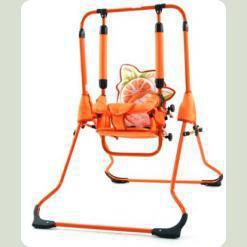 Гойдалки Tako Swing з барьеркой Апельсин