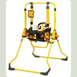 Гойдалки Tako Swing з барьеркой Бджілка