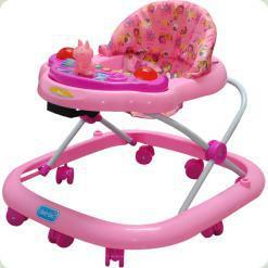 Ходунки Bambi JS301 Pink