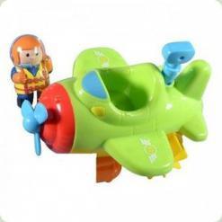 Іграшка для води Hap-p-Kid Little Learner Транспорт Гідролітак (3504, 3941-3944)
