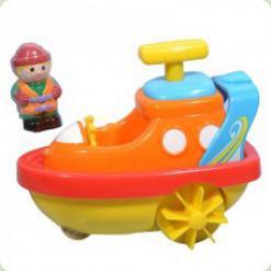 Іграшка для води Hap-p-Kid Little Learner Транспорт Катер (3502, 3941-3944)