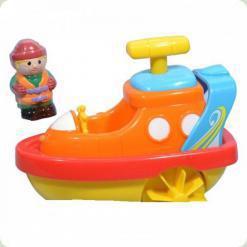 Іграшка для води Hap-p-Kid Little Learner Транспорт Катер (3952)