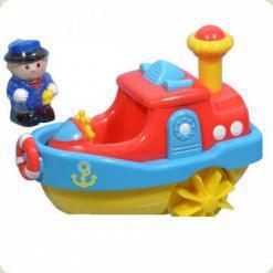 Іграшка для води Hap-p-Kid Little Learner Транспорт Пароплав (3951)