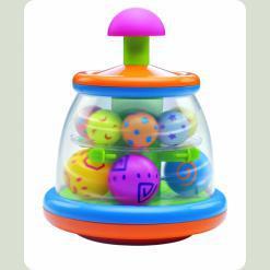 """Іграшка-дзиґа """"Кульки"""" (від 6 міс.)"""