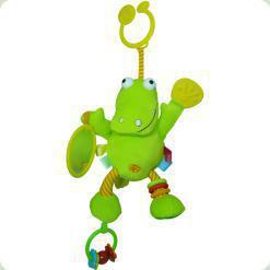 Іграшка-підвіска Biba Toys Активний крокодил (702JF crocodile)