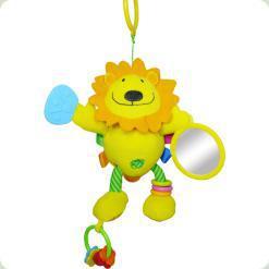 Іграшка-підвіска Biba Toys Активний левеня (702JF lion)