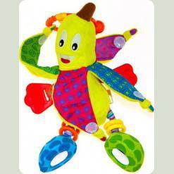 Іграшка-підвіска Biba Toys Кумедний бананчик (995DS)