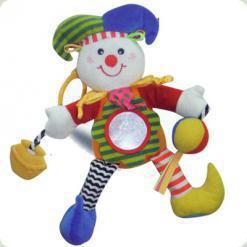 Іграшка-підвіска Biba Toys Щасливий клоун (032MC)