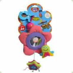 Іграшка-підвіска Biba Toys з дзвіночком і дзеркальцем (541BM)