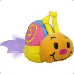 Іграшка віброползунок Biba Toys Равлик (948BV snail)