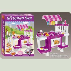 Ігровий набір Bambi 383-012 Кухня Фіолетовий