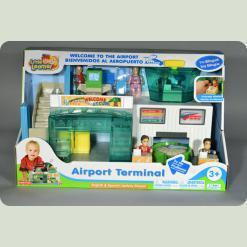 Ігровий набір Hap-p-Kid Little Learner Аеропорт-термінал (3890 T)
