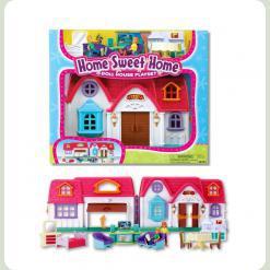 Ігровий набір Keenway Ляльковий будинок з предметами (20151)