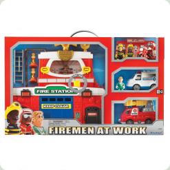 Ігровий набір Keenway Пожежна станція (12636)